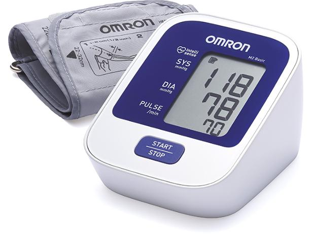 Omron M2 Basic Arm Blood Pressure Monitor Hem 7120 Blood