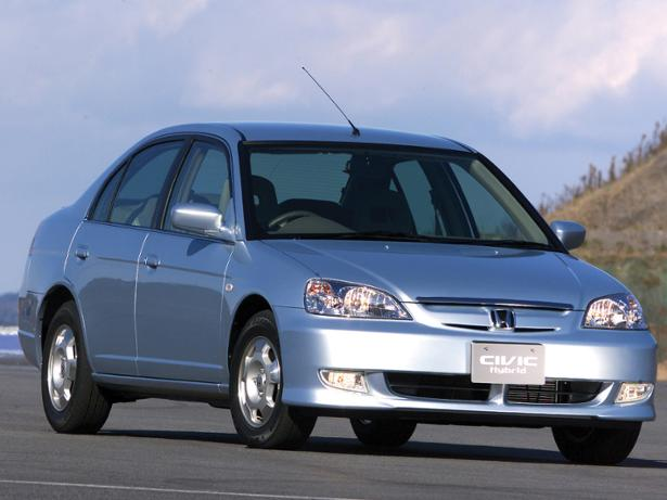 honda civic hybrid 2003 2005 new used car review which. Black Bedroom Furniture Sets. Home Design Ideas