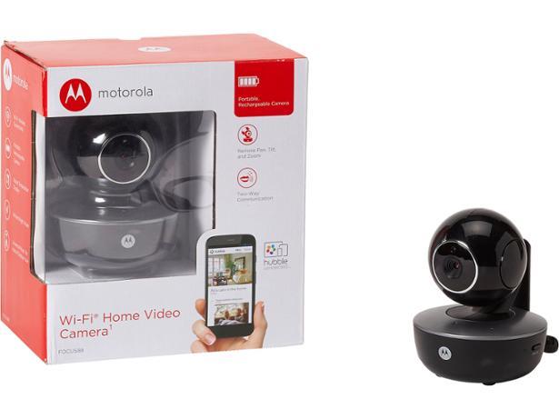 Motorola focus 88 Home Wi-Fi Security Camera In Black