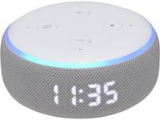Amazon Echo Dot (3rd Gen) with Clock