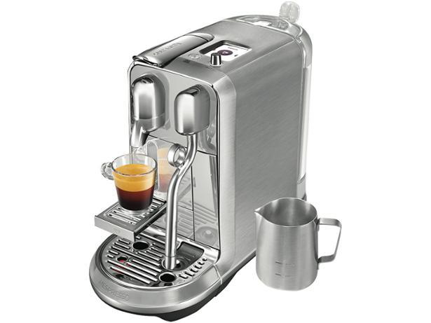 sage nespresso creatista plus coffee machine review which