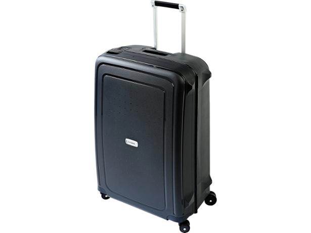 Samsonite S-Cure DLX Spinner 75cm front view
