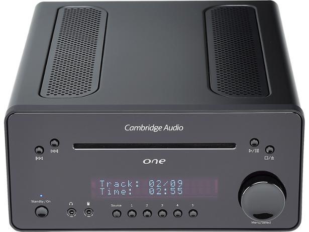 Cambridge Audio One (tested with Cambridge Audio Minx XL speakers) front view