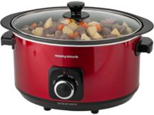 Morphy Richards Red Sear and Stew Slow Cooker 461011