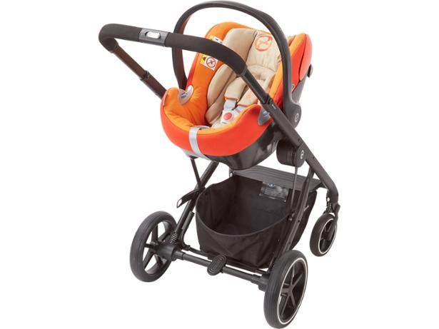 Cybex  Balios S Lux travel system front view