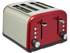 Argos Cookworks 4 Slice Red 816/4106