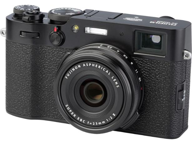 Fujifilm X100V front view