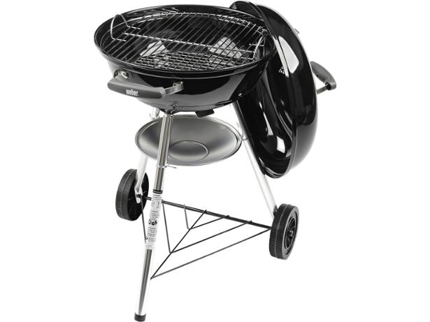 Weber Holzkohlegrill Compact Kettle 57 Cm : Weber compact cm kettle barbecue review which