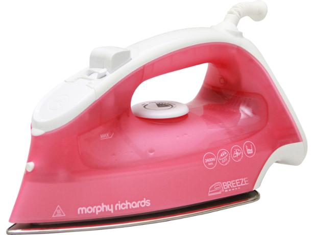 morphy richards breeze pink steam 300280 steam iron review. Black Bedroom Furniture Sets. Home Design Ideas