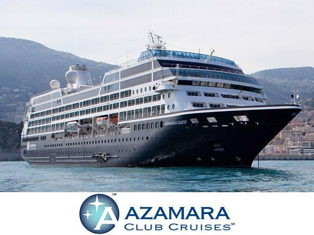 Azamara Ocean cruises front view