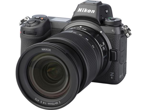 Nikon Z6 front view