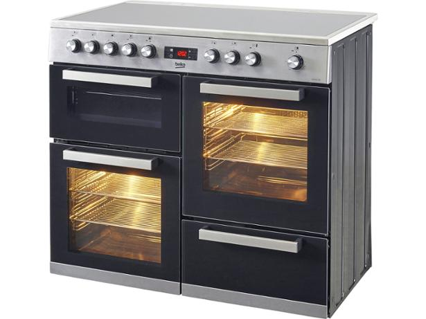 beko kdvc100x range cooker review which. Black Bedroom Furniture Sets. Home Design Ideas
