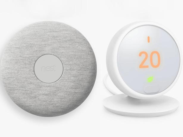 Google Nest smart thermostat E front view