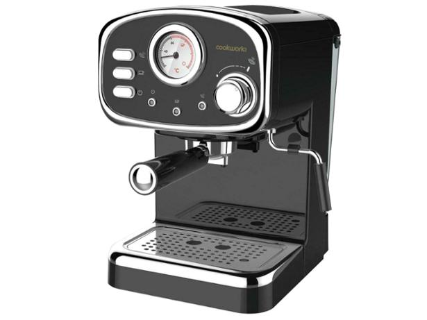 Sainsburys Home Retro Style Pump Coffee Machine Coffee