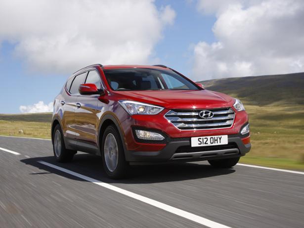 Hyundai Santa Fe (2012 ) Review