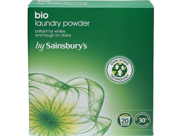 Sainsburys Bio Laundry Powder Washing Powder And Laundry