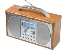 Bush Wooden DAB Radio (DAB-1507)