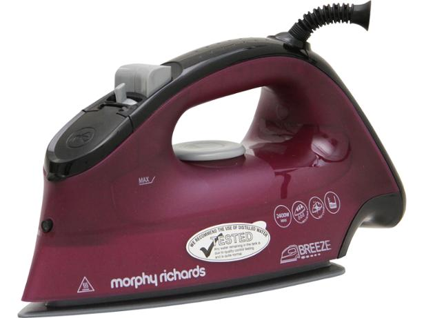 morphy richards breeze 300279 steam iron review which. Black Bedroom Furniture Sets. Home Design Ideas