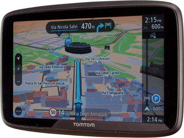 TomTom GO 620 front view