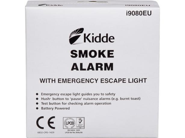kidde i9080 kidde smoke alarm with emergency escape light smoke alarm review which. Black Bedroom Furniture Sets. Home Design Ideas