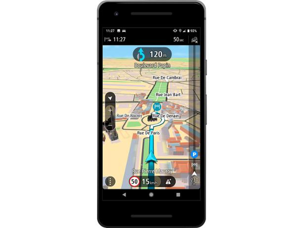 TomTom GPS Navigation Traffic (Android) sat nav review - Which?