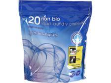 Sainsburys Non-Bio Liquid Capsules
