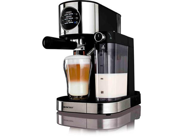 Kitchen Living Coffee Maker Reviews : Lidl Silvercrest Espresso Machine with Milk Frother coffee machine review - Which?