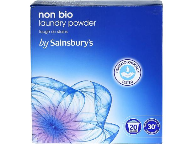 Sainsburys Non Bio Washing Powder Washing Powder And