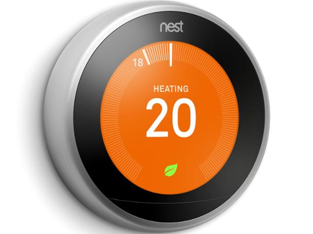 Google Nest Learning thermostat front view