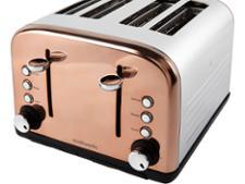 argos cookworks 4 slice copper 707 3401 toaster review. Black Bedroom Furniture Sets. Home Design Ideas